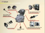 Dispositivo d'avviamento di scossa universale di alluminio argenteo delle parti di motore del motociclo di alta qualità Aaay (SL125-Zz2)