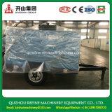 Compresseur d'air rotatoire à moteur diesel de roues de Kaishan BKCY-12/10 145psig deux