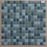 浴室の台所のためのイタリアデザイン青いカラーガラスモザイク