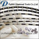Il legare del diamante ha veduto per mano di pietra del granito blocco di taglio
