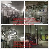 La máquina del yogurt congelado tasa cadena de producción del yogur de la leche de la máquina de rellenar del yogur de Shangai Jimei la mini