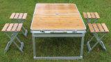 Conjunto de picnic 5PCS, Mesa de jardín y silla, mesa y silla doblada