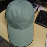 Unconstructed 6 Panel Light Green Plain Gorra de béisbol / Golf Cap