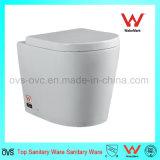 Pendurar na parede de cerâmica lavabo Wc para novos WC