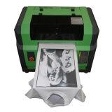 Ce approuvé A3 taille petite t-shirt machine à imprimer pour le coton