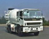 Caminhão conservado em estoque de ISUZU, caminhão do misturador concreto de 8-10 m3 ISUZU