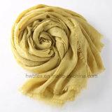 Scialle di tela variopinto di Molla-Autunno del cotone/sciarpa unisex (HWBLC04)