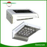 l'éclairage extérieur sans fil IP65 Penel du pouvoir PIR de 16LED de mouvement de détecteur de lumière solaire de mur imperméabilisent la lumière de nuit de lampe de jardin