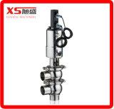 Válvula impermeável sanitária higiênica Dn80 / válvula de prova de mistura / elevação do assento