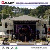 La visualización de LED a todo color al aire libre P4.81 de aluminio a presión la fundición para el acontecimiento, alquiler (la cabina de 500mm*500m m)