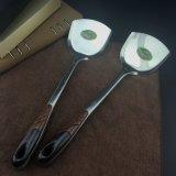 중국 도매 나무로 되는 손잡이 스테인리스 부엌 장비 선반공
