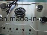 까만 강화 유리 위원회 Jzg32002를 가진 2개의 가열기 건축하 가스 호브