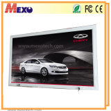 LED Slim Light Box Publicité extérieure LED Light Box avec serrure