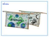 ヤモリデザインColorfullプリント旅行化粧品袋
