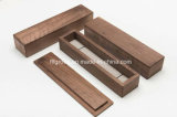 Casella di legno portatile di modo elegante di disegno per memoria dei monili