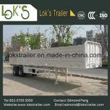 40 voeten 2 de ZijAanhangwagen van de Daling van de Lading van Assen