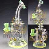 A tubulação de fumo de vidro grossa de vidro a mais nova da tubulação de água 7mm de Bontek