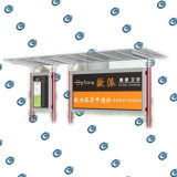 Bus Shelter con Stainless Metal (HS-BS-A001)