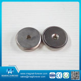 Magnete poco profondo rotondo del POT dell'alto di tiro anello della forza