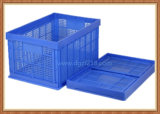 Warehouse를 위한 EU Standard Large Plastic Collapsible Storage Basket