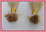 A extensão Pre-Ligada do cabelo Remy do cabelo real de 100% Eu-Derruba