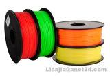 カラー3DプリンターフィラメントPLA/ABS 1.75mm/3mmの1kg消耗品材料Filamentmakerbot/Reprap/up/Mendelの熱い販売