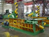 Hydraulische Schrott-Aluminiumlegierung-Stahlmetalballenpresse, die Maschine aufbereitet