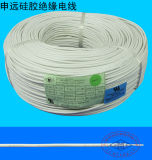 Gancho de leva de alta temperatura encima del cable eléctrico del silicón del alambre