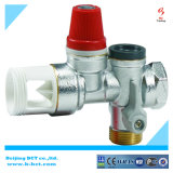 真鍮のmatrialsの安全弁、銀製カラー、金属カラー、Nicelカラーガスの調整装置BCTSV03 1.5-8Bar