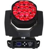 Bienen-Augen-Summen-Wäsche-bewegliches Hauptlicht LED-helle 19PCS 15W RGBW LED