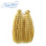 Выдвижение человеческих волос девственницы новой скручиваемости оптовой продажи 613 звезды популярной Kinky перуанское