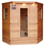 Disegni della stanza di sauna di DiNewsun (XS-3LC) e stili fferent infrarossi della sede di toletta. Fatto da resina o da plastica. Con differenti formati.
