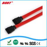 Fabbricazione del cavo elettrico del segnale del cavo SATA di Serial ATA in Cina