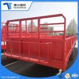 반 3개의 차축 대량 화물 수송 평상형 트레일러 측벽 화물 트레일러