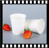 Tazza di tè calda a parete semplice su ordinazione della tazza di carta 8oz del caffè