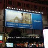 Tri-Vision exterior vallas publicitarias de liberación del Viento Solar de Proyectores LED de alta uniformidad