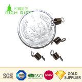 中国の製造業者の安い高精度の螺線形の圧縮の電話クロック文房具の小さいねじりの機械金属のばね