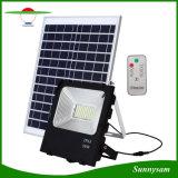 IP65は屋外の機密保護ライトリモート・コントロール50W太陽洪水ライトを防水する