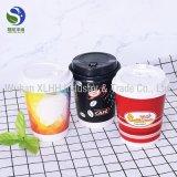 도매 8oz Eco 친절한 PLA 두 배 벽 커피 종이컵