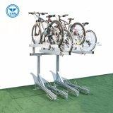 マルチ容量の水平の二重のバイクの駐車ラック
