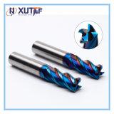 Las flautas de 2/4 de herramientas de corte CNC de carburo sólido