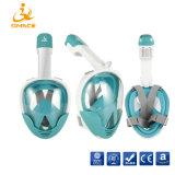 Máscara de Mergulho Facial máscara de mergulho com snorkel 2018