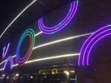 À prova de resistência a alta temperatura de 7mm Super Fino Neon LED de luz flexível