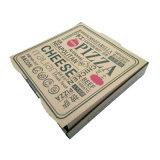 De façon personnalisée de la Pizza emballages papier Boîte en carton ondulé