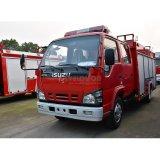 Isuzu 4X2 japoneses de espuma de 2500 litros de depósito de la bomba de agua Camión Contra Incendios