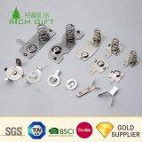 Fabricante Mayorista de China personalizados pequeños de precisión de la bobina de cable de batería cónico espiral de la Pagoda de contacto 304 Primavera