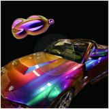 Chrome Chameleon Cambio de color de pigmento en Polvo de recubrimiento de coche