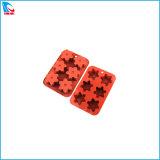 Estrela de silicone resistente ao calor bolo de chocolate fácil de lavar do Molde