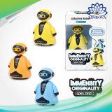 Os brinquedos mágicos educacional pinguim robô indutivo com caneta mágica siga você desenhar brinquedos para crianças