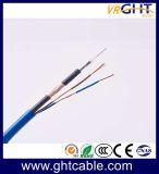 Siamois composite Câble coaxial RG59+2c (CE) CCC RoHS ISO9001